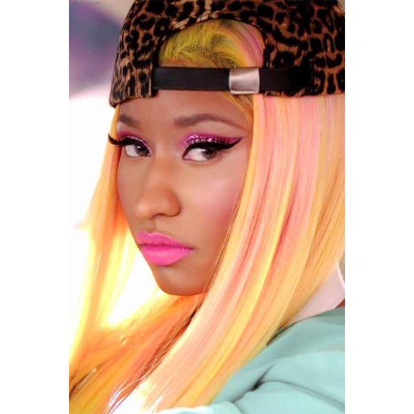 An image of Nicki Minaj ❤ liked on Polyvore featuring nicki minaj, nicki, models, hair and people