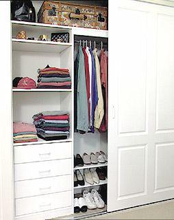 best 25 wardrobe storage ideas on pinterest ikea walk. Black Bedroom Furniture Sets. Home Design Ideas