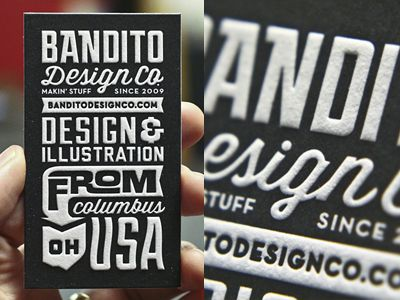 Bandito Card 2 by Ryan Brinkerhoff