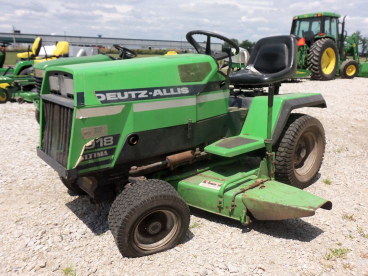Deutz Allis 918 Ultima Lawn Amp Garden Tractor Allis