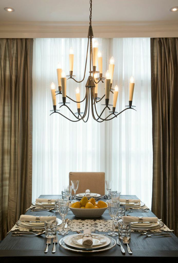 Make Your Simplistic Yet Sophisticated Chandelier The Center Piece Of Dining Room Seen Savoy