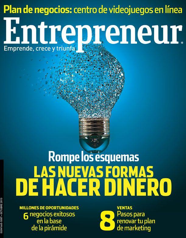 En nuestra edición de octubre 2013 encontrarás las historias de emprendedores disruptivos que están cambiando la forma de hacer negocio. Además, te compartimos oportunidades para emprender atendiendo las necesidades de vivienda, educación y entretenimiento de las clases de menor ingreso en México.