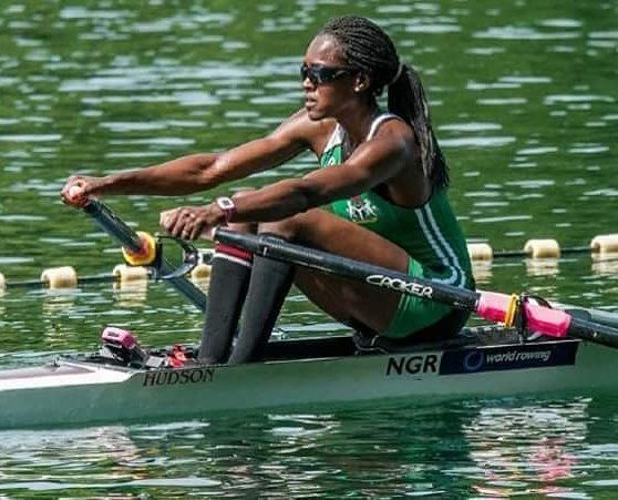 Thank You for your Prayers!!! CHIERIKA UKOGU just picked a silver medal at the rowing event at the olympics #Rio2016  She just gave Nigeria it's first medal at the 2016 Olympics.  Congratulations.