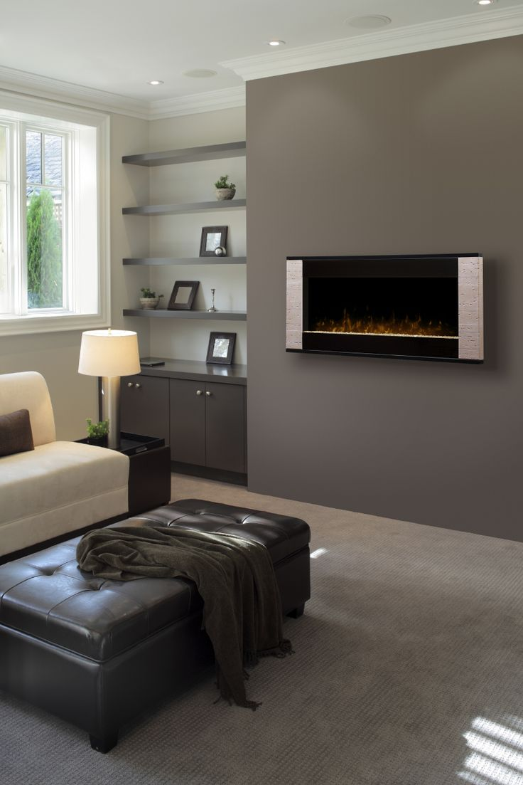 39 best wall mount electric fireplaces images on pinterest
