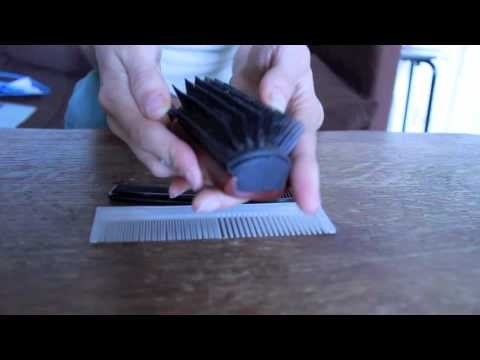 Just playing with my brush and my combs today! ASMR http://www.youtube.com/missmindbuzz