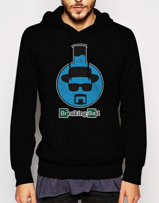 Gift+for+Men+Breaking+Bad+Lab+Beaker+Heisenberg+Walter+White+Black+Hoodie