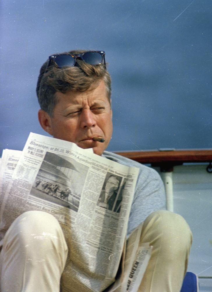 ST-C283-48-63. President John F. Kennedy Sails Aboard Yacht Honey Fitz - John F. Kennedy Presidential Library & Museum