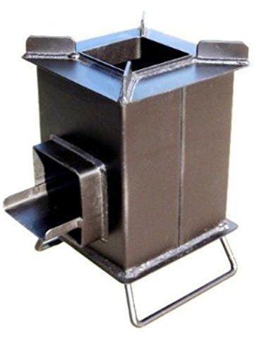 Heavy duty grover rocket stove pesht i ognishte for Small rocket heater