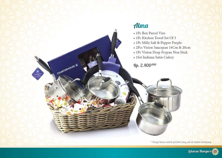 Lebaran Parcel - Alma. Click www.informa.co.id for more collection.