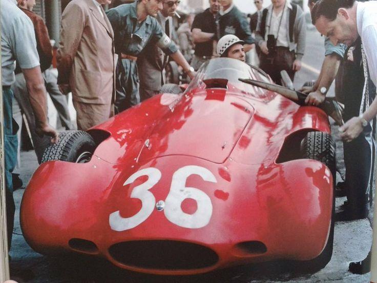 Jean Behra in the Aero Maserati