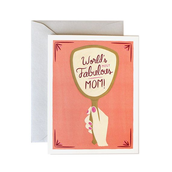Mother's Day Card  mothers day card happy by mydearfellowco