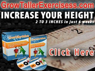 Your body height is one of the factors that will determine your look. There are many people who are disappointed with their body height. They want to grow taller but they don't know what they should do to reach their goal. If you want to grow taller naturally and you want to get the best results, reading grow taller 4 idiots reviews might be the best solution that you could find these days. This grow taller exercises is considered as one of the most successful height gain