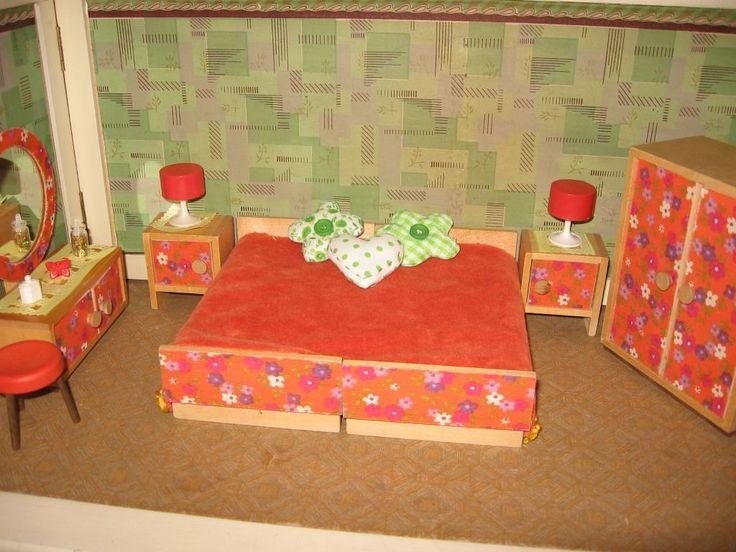 Puppenhaus Tapete Bodo Hennig : Bodo Hennig Schlafen 70er Puppenhaus-Puppenstube-Puppenk?che eBay