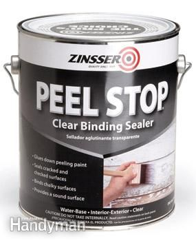 DIY Problem Solvers and Household Tips: Apply this primer over old paint to reduce or prevent peeling.