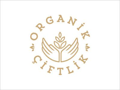 Organik Ciftlik logo design Simple Line Art Used in Logo Design | 25 Beautiful Examples