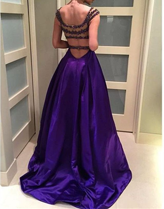 Prom Dresses,Evening Dress,New Arrival Prom Dress,Modest Prom Dress,Purple