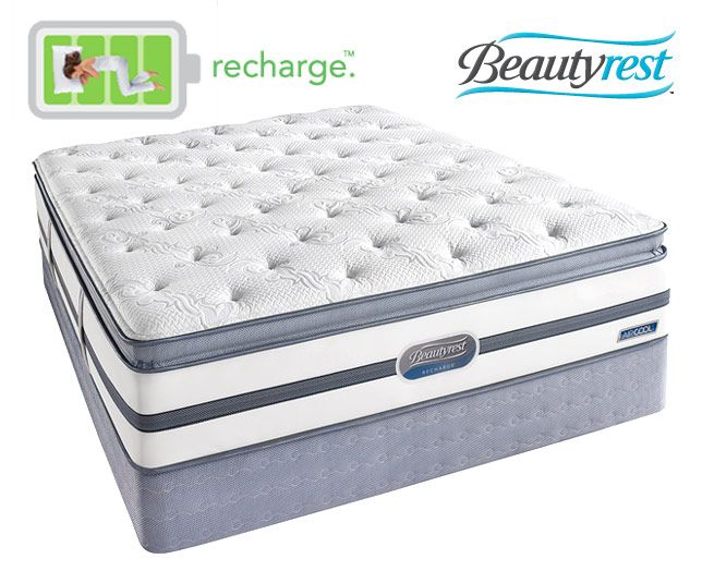 the new simmons beautyrest recharge series are a dream to sleep on get yours at