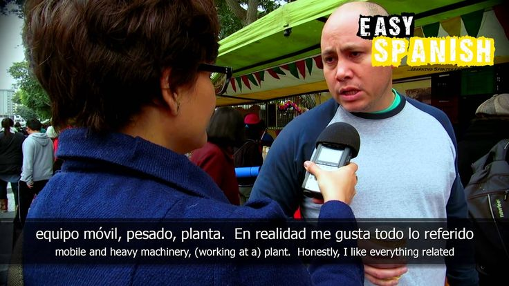 In this episode Beatriz asks people in the streets of Lima, Peru about their professions. Easy Languages is a non-profit video project aiming at supporting p...