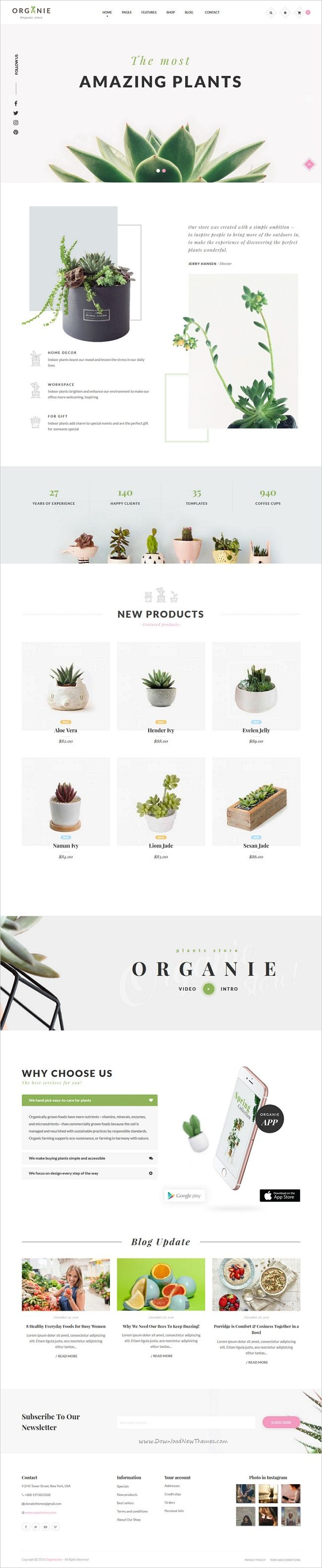 Organie is a wonderful responsive 12in1 #Prestashop theme for #webdesign stunning organic #store eCommerce websites with advanced admin module, extremely customizable download now➩ https://themeforest.net/item/organie-a-delightful-organic-store-ecommerce-prestashop-theme/19206461?ref=Datasata