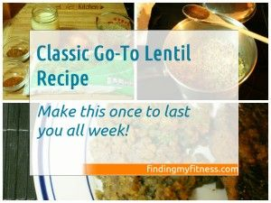 Slow Carb Diet Recipes for the 4 Hour Body - Lentils | Finding My Fitness