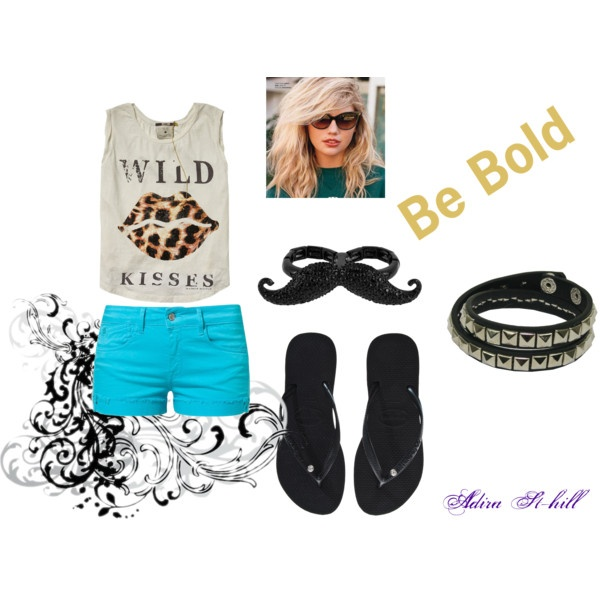 Be Bold by adira-99 on Polyvore