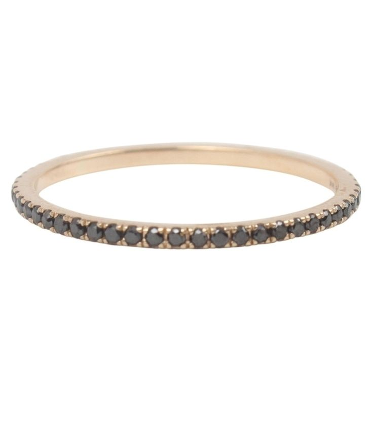Catbird :: shop by category :: JEWELRY :: Wedding & Engagement :: Fairy Light Eternity Band, Black Diamonds