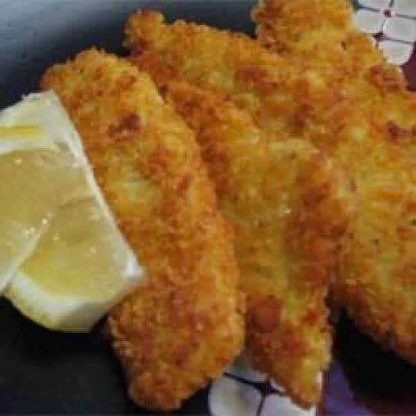 Ellen's Crispy Flounder Fillets Recipe