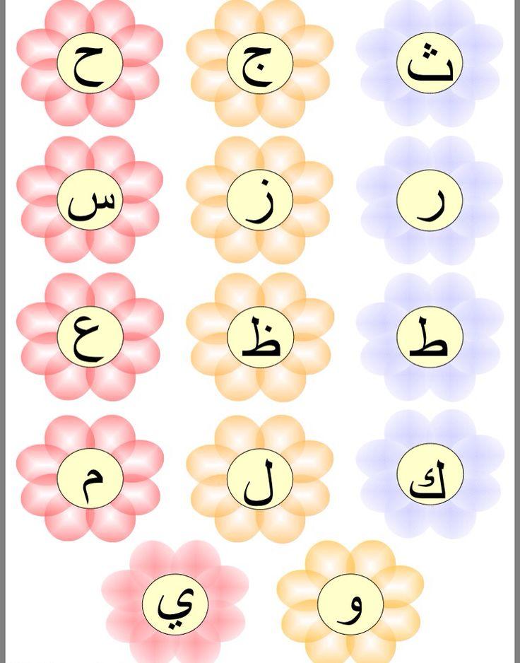 Arabic Alphabet Flower Match Game Pdf