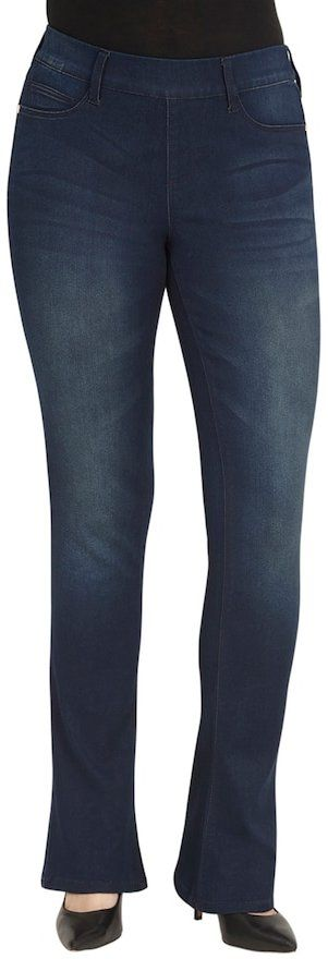 Seven7 Women's' Pull-On Bootcut Jeans