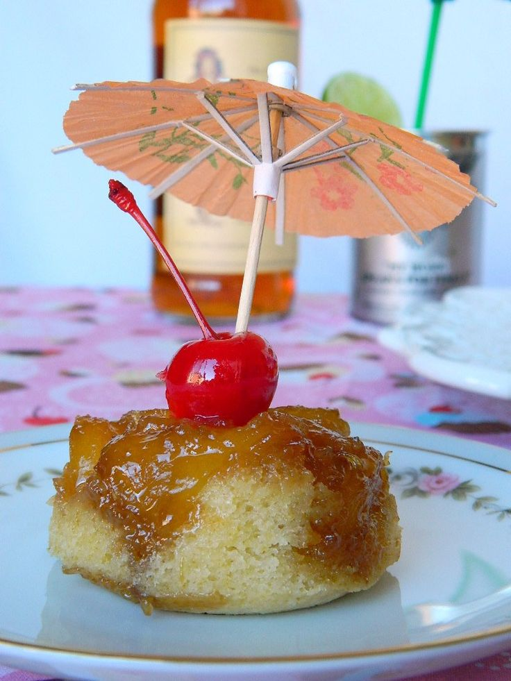 After trying these, I don't think you'll be able to have pineappleupside-down cake any other way! Warm fluffy cake topped with Sailor Jerry Rum infused pineapple chunks with caramelized butter and…