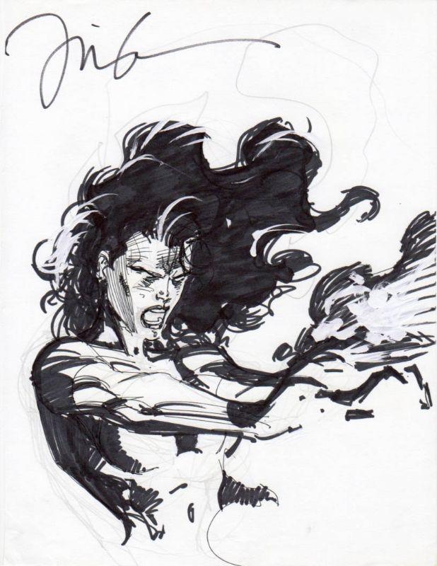 Jim Lee - Dark Phoenix, in JimmyS's coll Comic Art Gallery Room - 788308