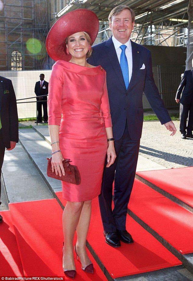 Queen Maxima and King Willem-Alexander visit a Bavarian art gallery