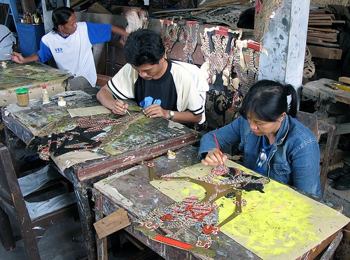 wayang kulit – Shadow Puppets painting | More About Indonesia