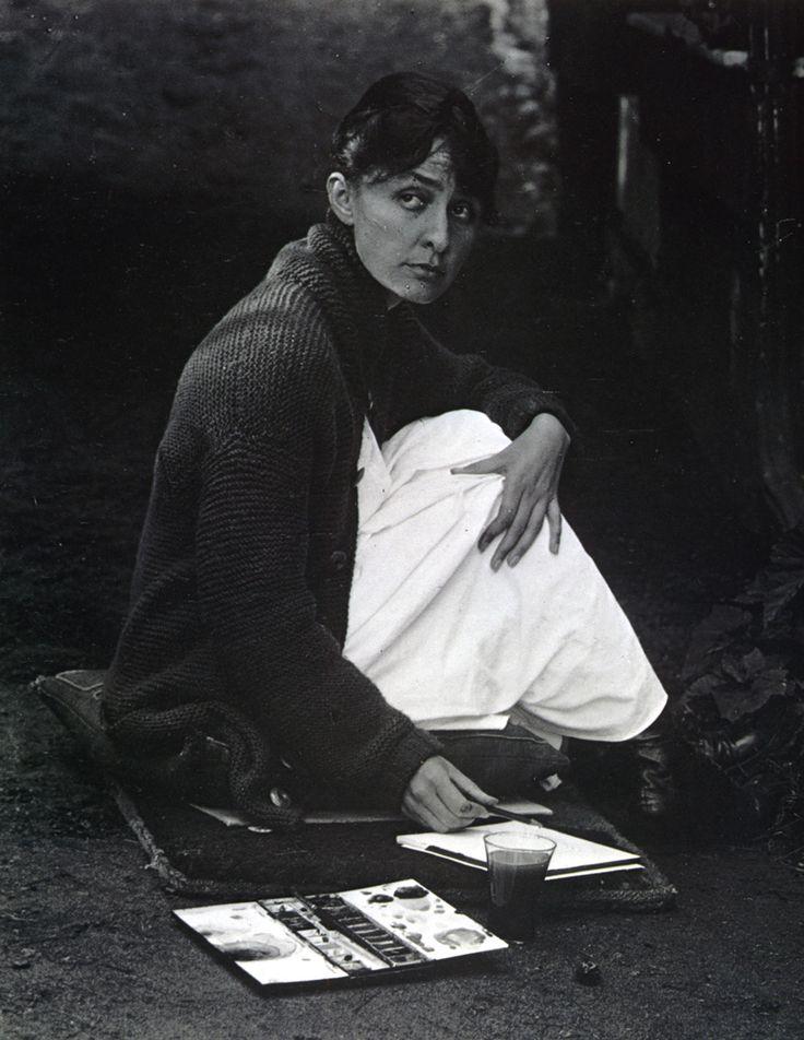 1918, Alfred Stieglitz : Portrait of Georgia O'Keeffe
