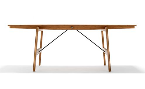 WE DO WOOD: Dining Table no.1 - made from Bamboo. Available at http://www.tempoberlin.com