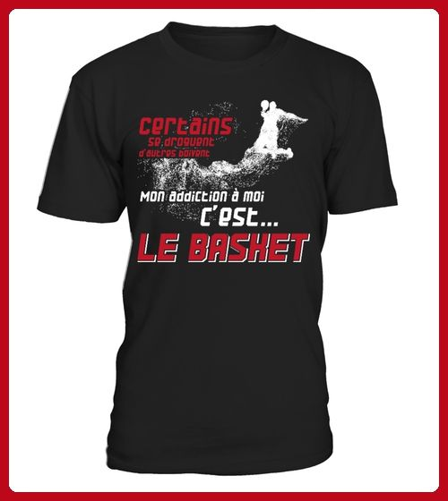 Mon addiction le basket  - Basketball shirts (*Partner-Link)