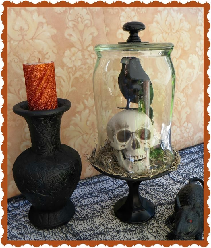 make your own bell jar cloche