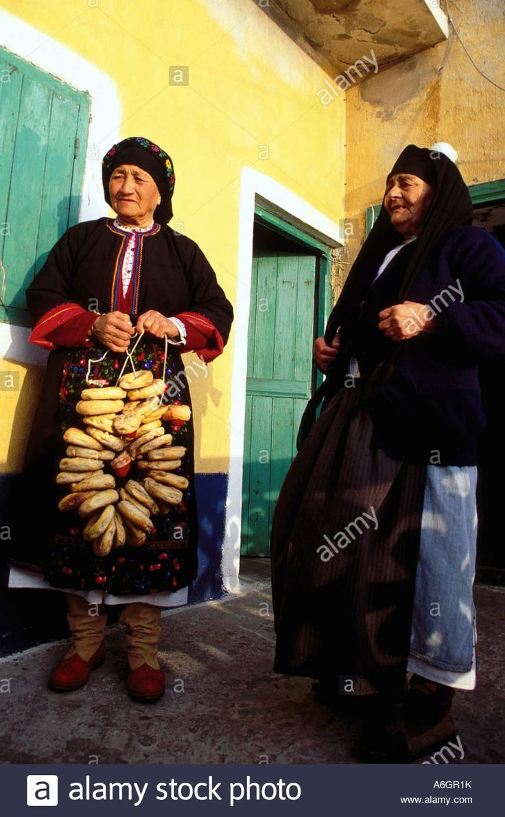 Karpathos Olymbos True to Tradition Olymbos women Easter bread Greece Velissarios Voutsas IML Image Group. Olympos Karpathos Dodecanese's islands. Greece. Velissarios Voutsas IML Image. www.alamy.com.