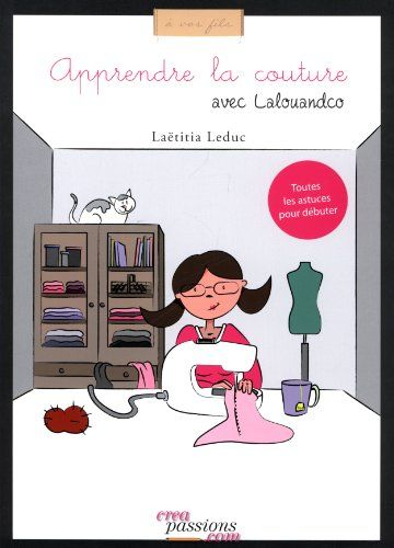 "Livre ""Apprendre la couture avec Lalouandco"""