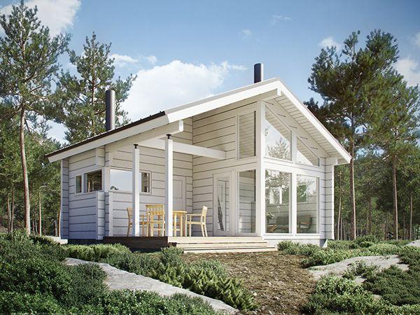 Mejores 70 im genes de casas fachadas en pinterest for Arquitectura casas pequenas