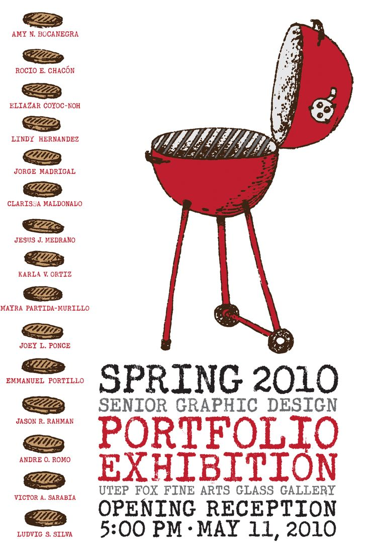 welcome to joeyponce.com » Spring 2010 Graphic Design Portfolio Exhibition