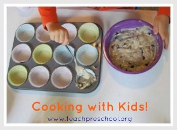 More cooking with Kids