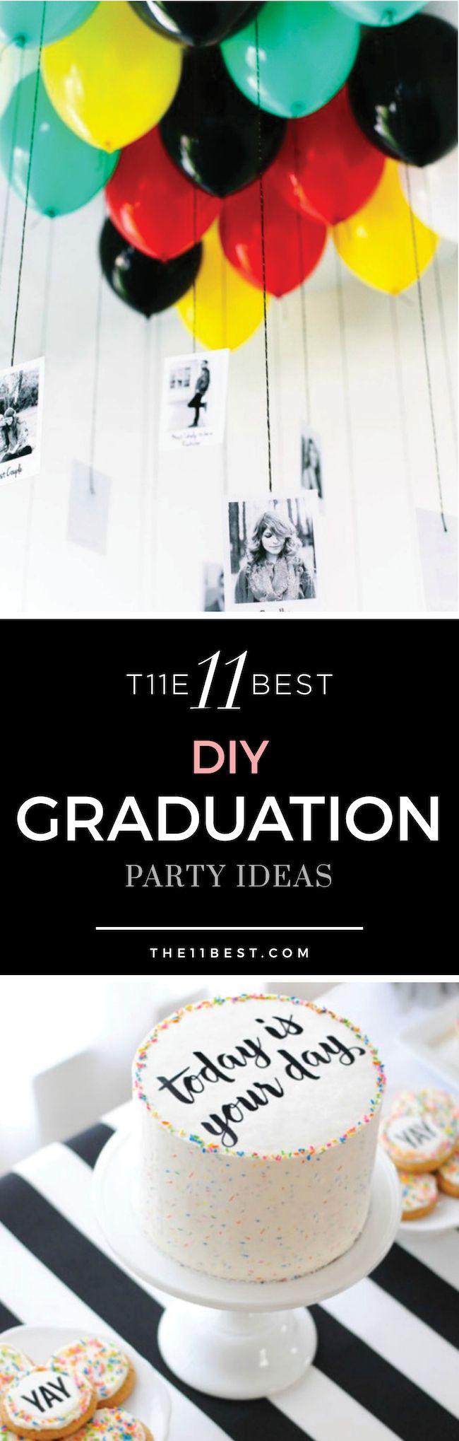 The BEST graduation party ideas!