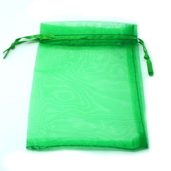 Green Organza Bag 9x12cm,Wedding Jewelry Packaging Pouches,Nice Gift Bags 100pcs/lot PS-PDB01-02GN