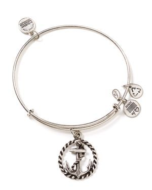 Vi Thank You I will think of you when i wear my Alex and Ani Nautical Bracelet