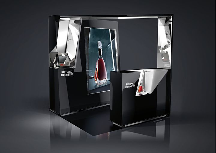 Richard Hennessy merchandising by FRST, Asia and worldwide