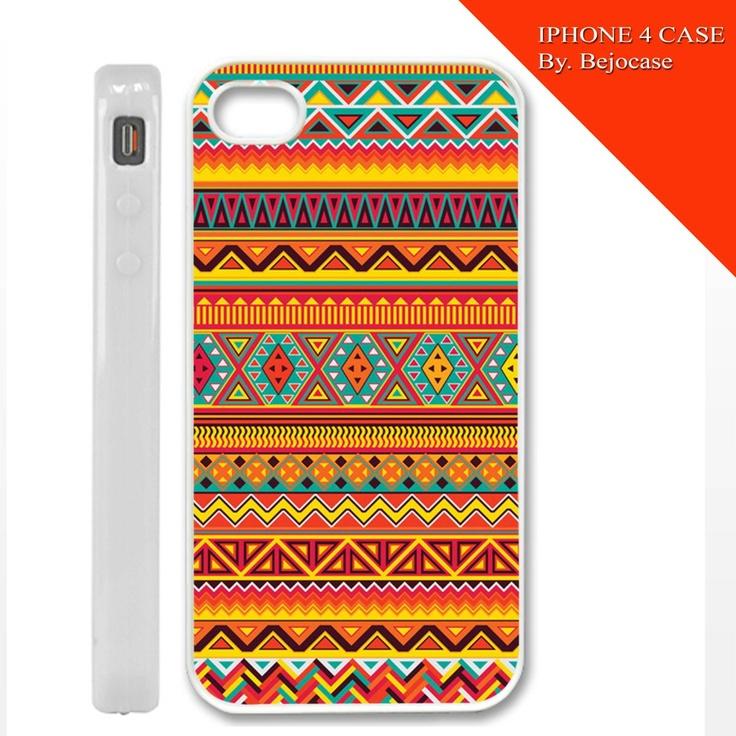 aztec orange love for iphone 4 and iphone