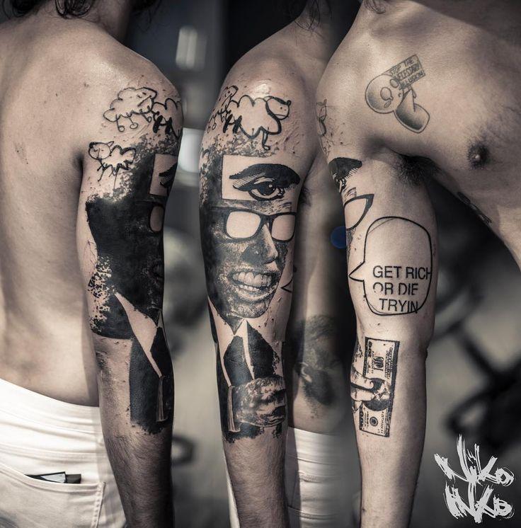 55 best tattoo by niko inko images on pinterest tattoo for Avant garde tattoo