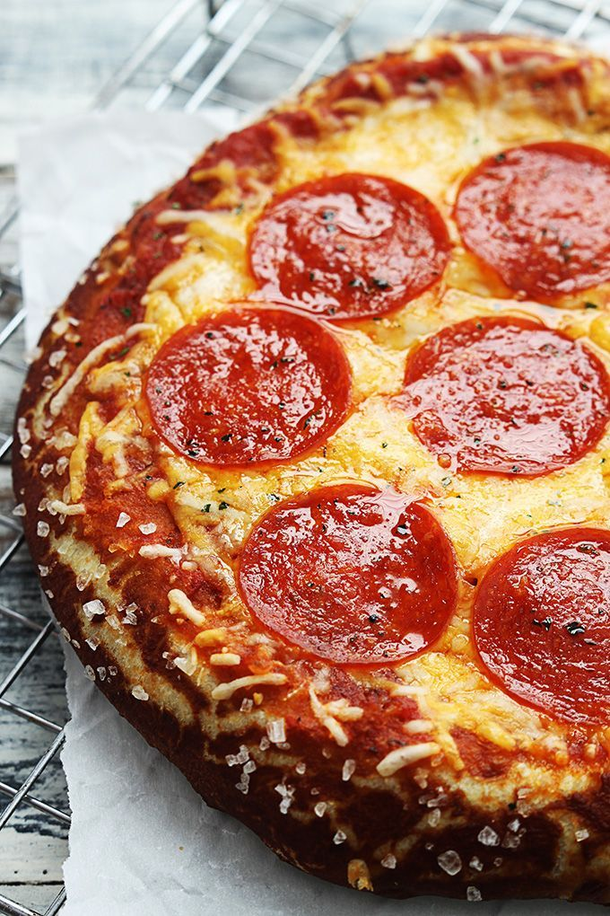 Chewy pretzel-crust pizza is all the rage! This recipe is very easy to make and makes better-than-delivery pizza you'll make again and again.