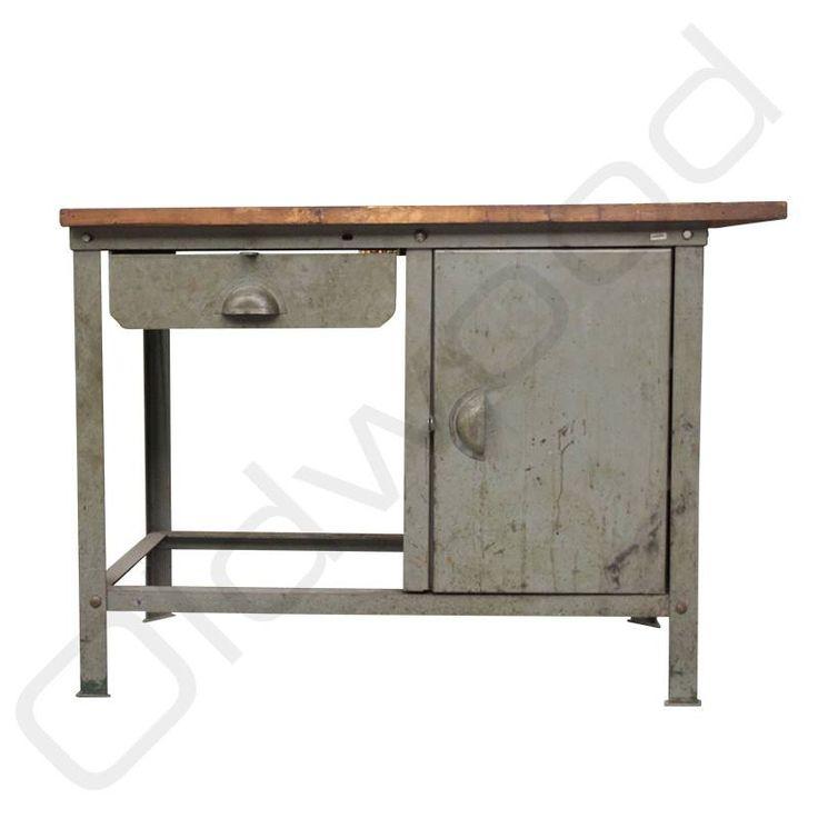 36 beste afbeeldingen over i werkbanken stoere dressoirs op pinterest modellen - Houten keuken en metaal ...